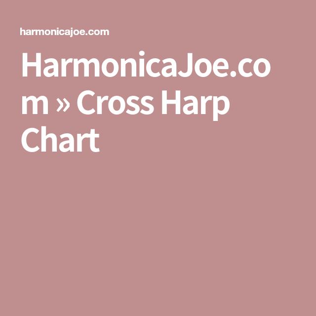Harmonicajoe Cross Harp Chart