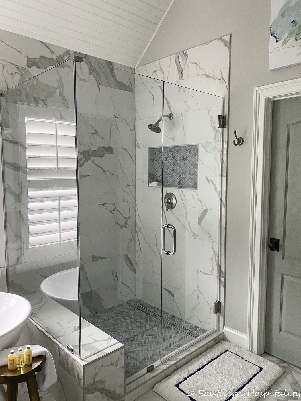 The New Traditional Master Bathroom Reveal Bathroom Vanity Decor