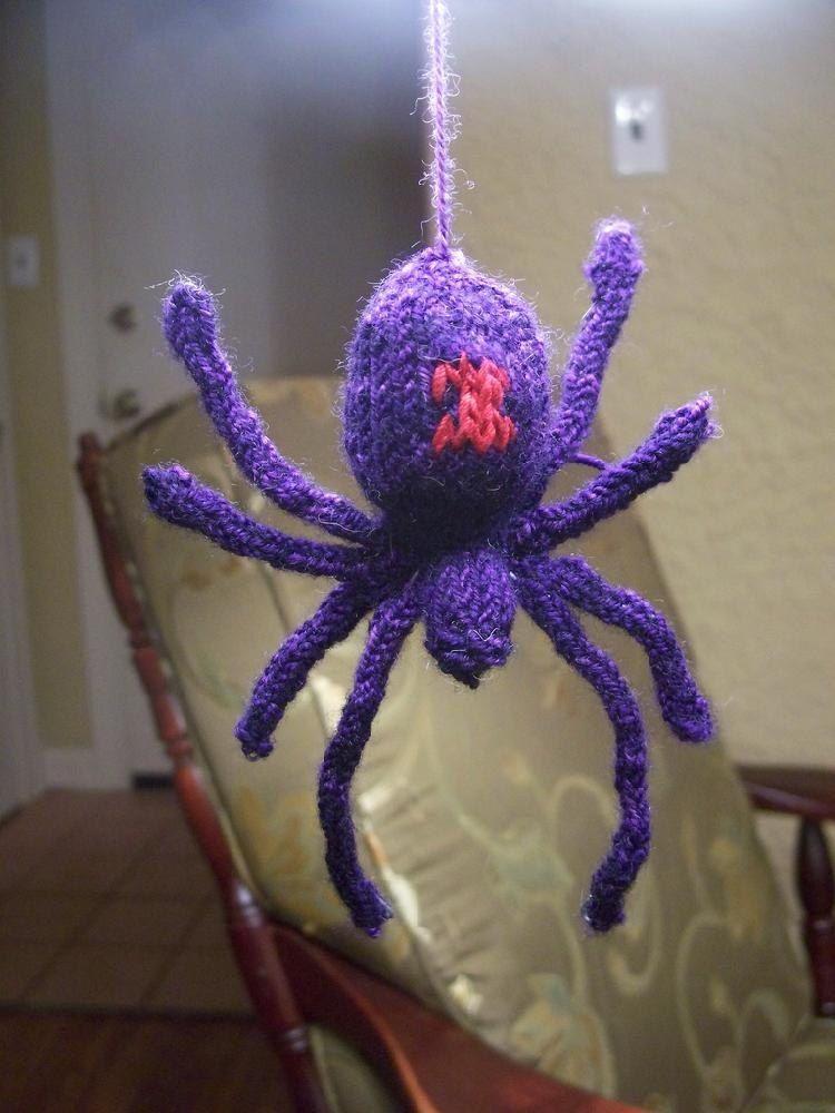 Black Widow Spider Black Widow Spider Knitting Patterns And