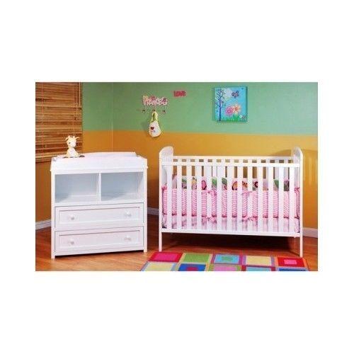 Classic Crib N Changer Baby Dresser Combo Nursery Bed Bedding Cradle Babies Room Baby Furniture Sets Nursery Furniture Collections Baby Furniture