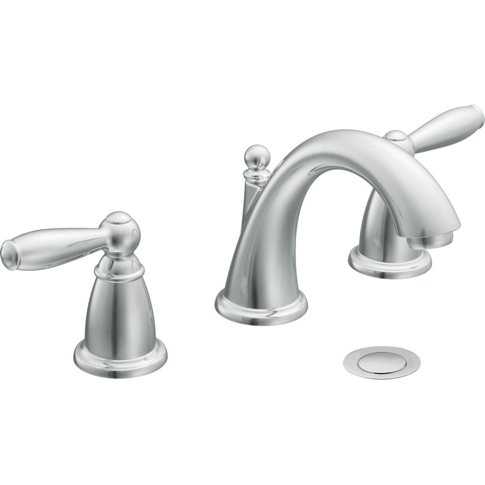Kingston Brass Ks3951Ax Restoration Mini Widespread Lavatory Adorable Home Depot Moen Bathroom Faucets Review