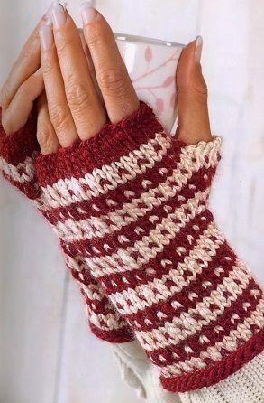 Схема вязания пальцами