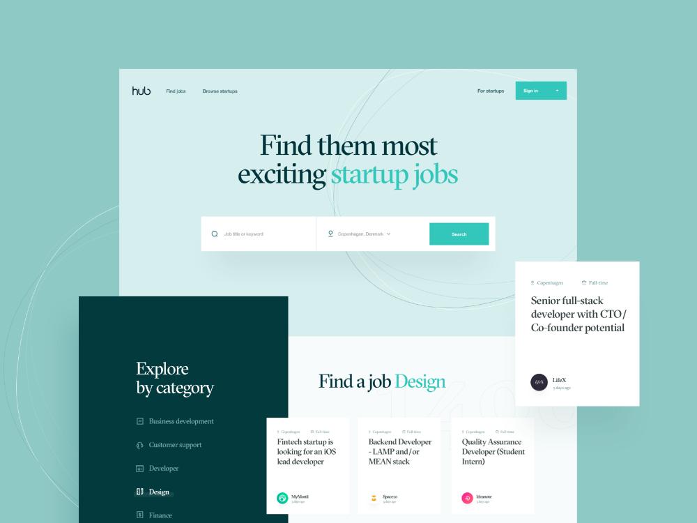 Thehub Style Exploration 11 In 2020 Web Design Corporate Event Design Website Design