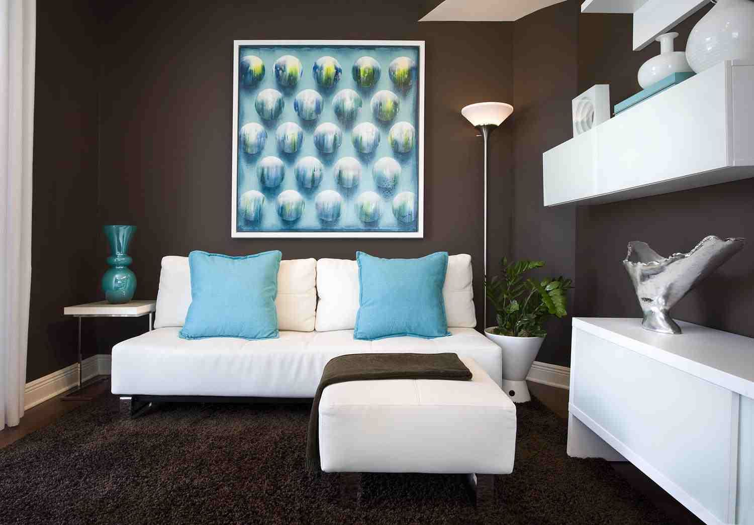 Turquoise And Brown Room Decorations Living Room Turquoise
