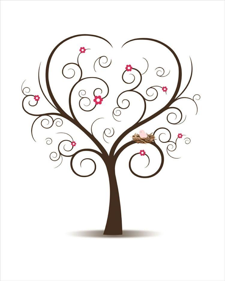 Fingerabdruck Baum Vorlage Andere Motive 7