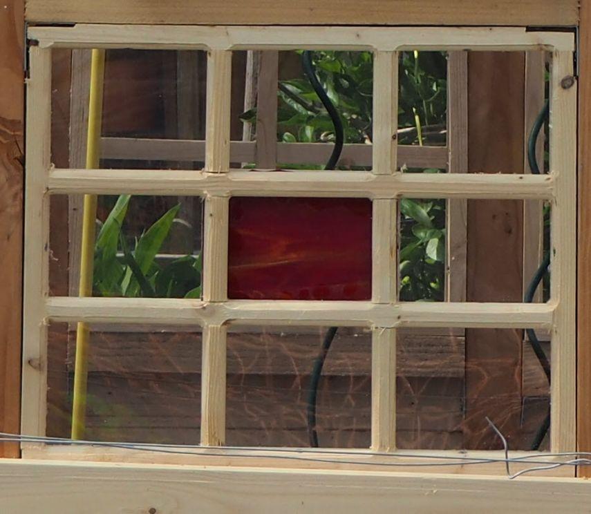 Gartenhaus/Gewächshaus aus alten Fenstern Alte fenster