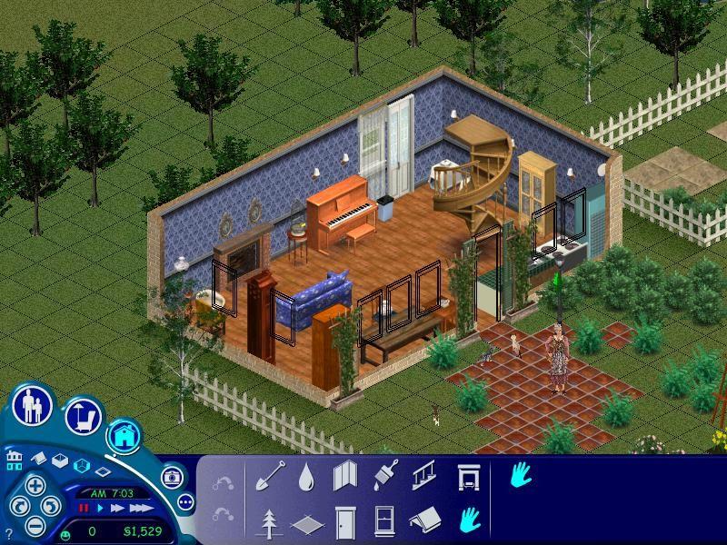 Sims 1 Kat Family Sims 1, Sims, Video games