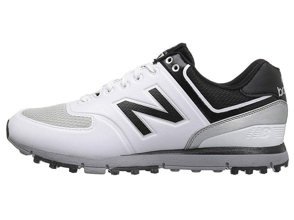 New balance golf nbg518 mens golf shoes whiteblack with