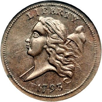 earliest american coins | Early American Coppers Club
