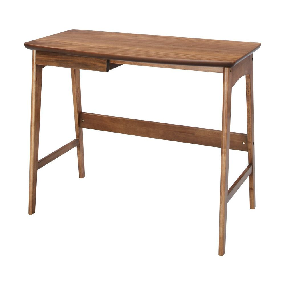 Wood Desk Drawer Dressing Table Office Home Study Work TAC-243WAL ...