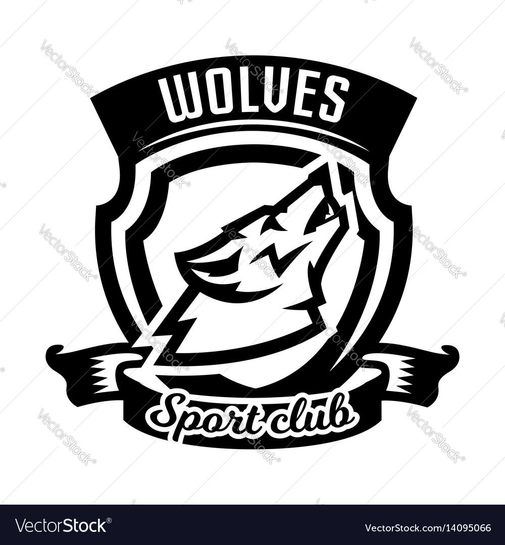 Pin by Chlo&MattH on Sport Wolf howling, Monochrome, Logos