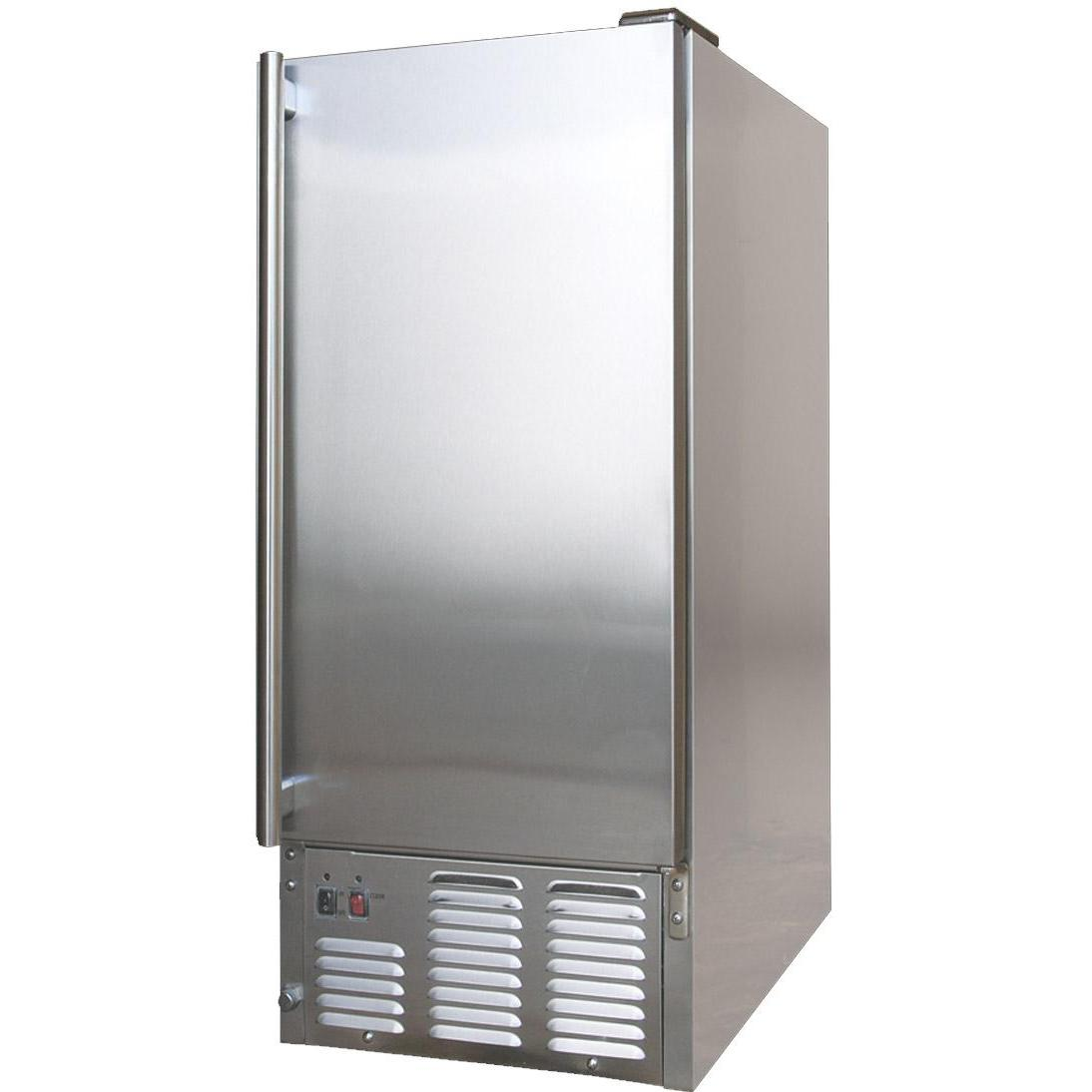 Outdoor Kitchen Refrigerator With Ice Maker