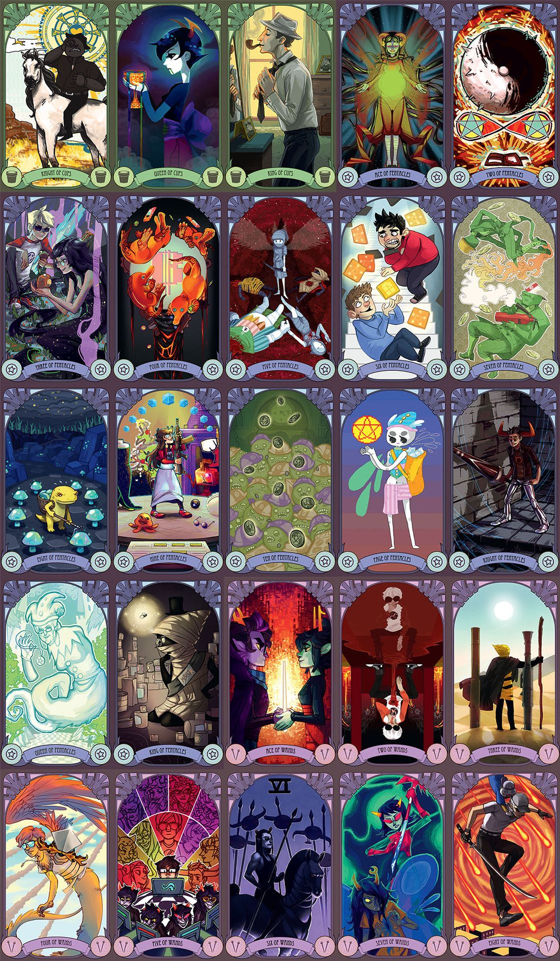 Card Deck With Guidebook By: Pin By Shelley Koon On Tarot And Playing Cards