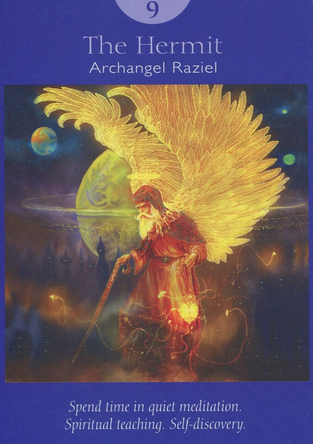 Angel tarot deck the hermit 9 angel tarot cards