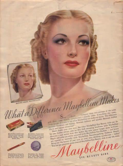 vintage cosmetics photos bing afbeeldingen maquillage annee 40 pinterest ann es 40. Black Bedroom Furniture Sets. Home Design Ideas