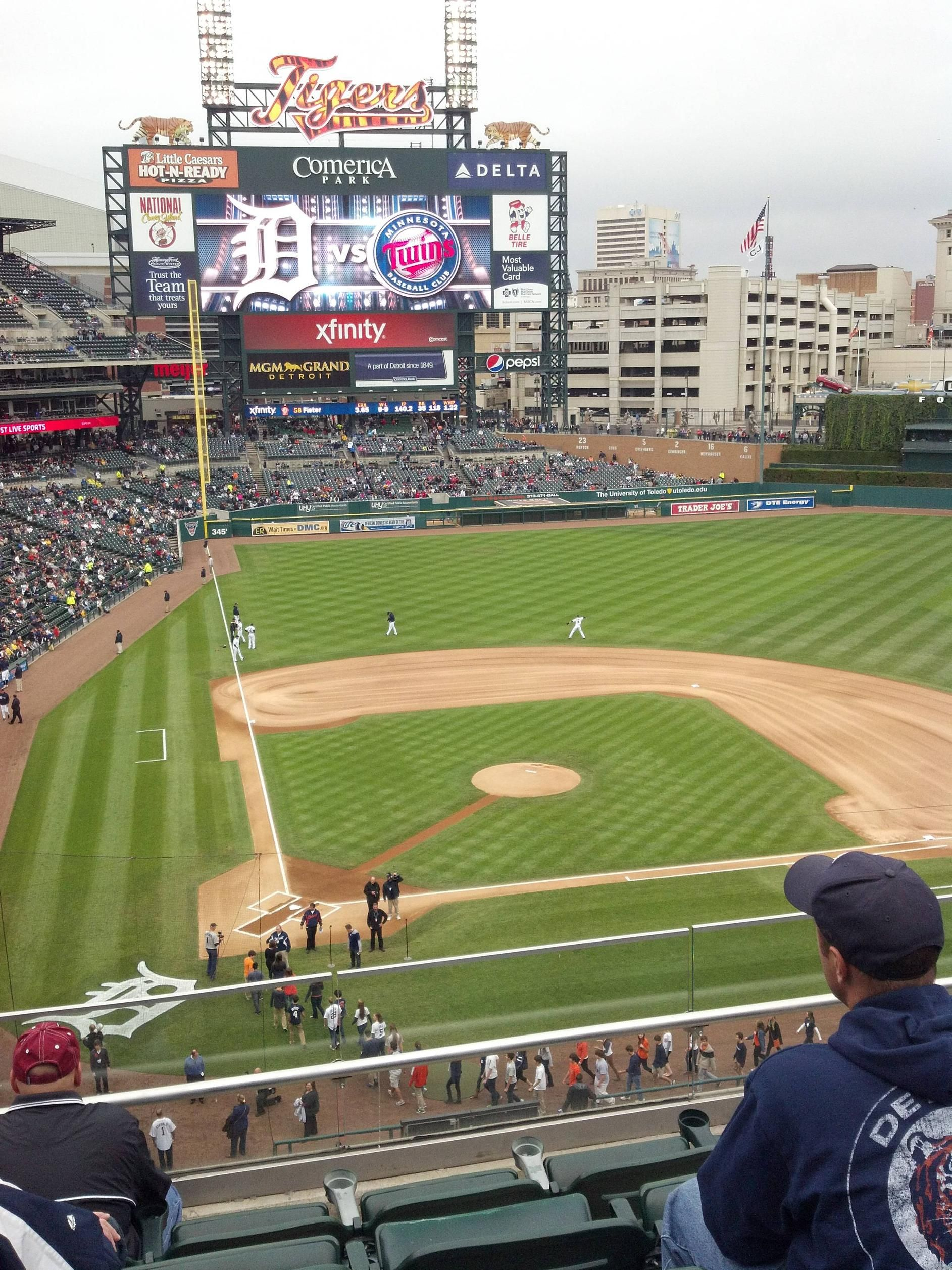 Pin By Michael Katz On Baseball Baseball Stadium Mlb Stadiums Michigan Sports