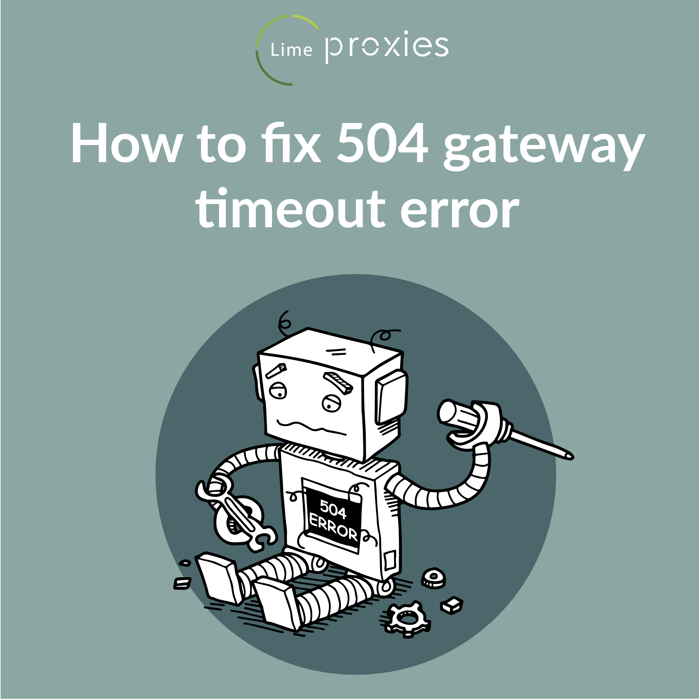 How to fix 504 gateway timeout error? | Privacy and Security