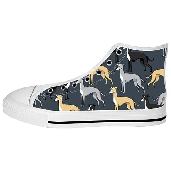 Greyhound Shoes & Sneakers - Custom Greyhound Canvas Shoes