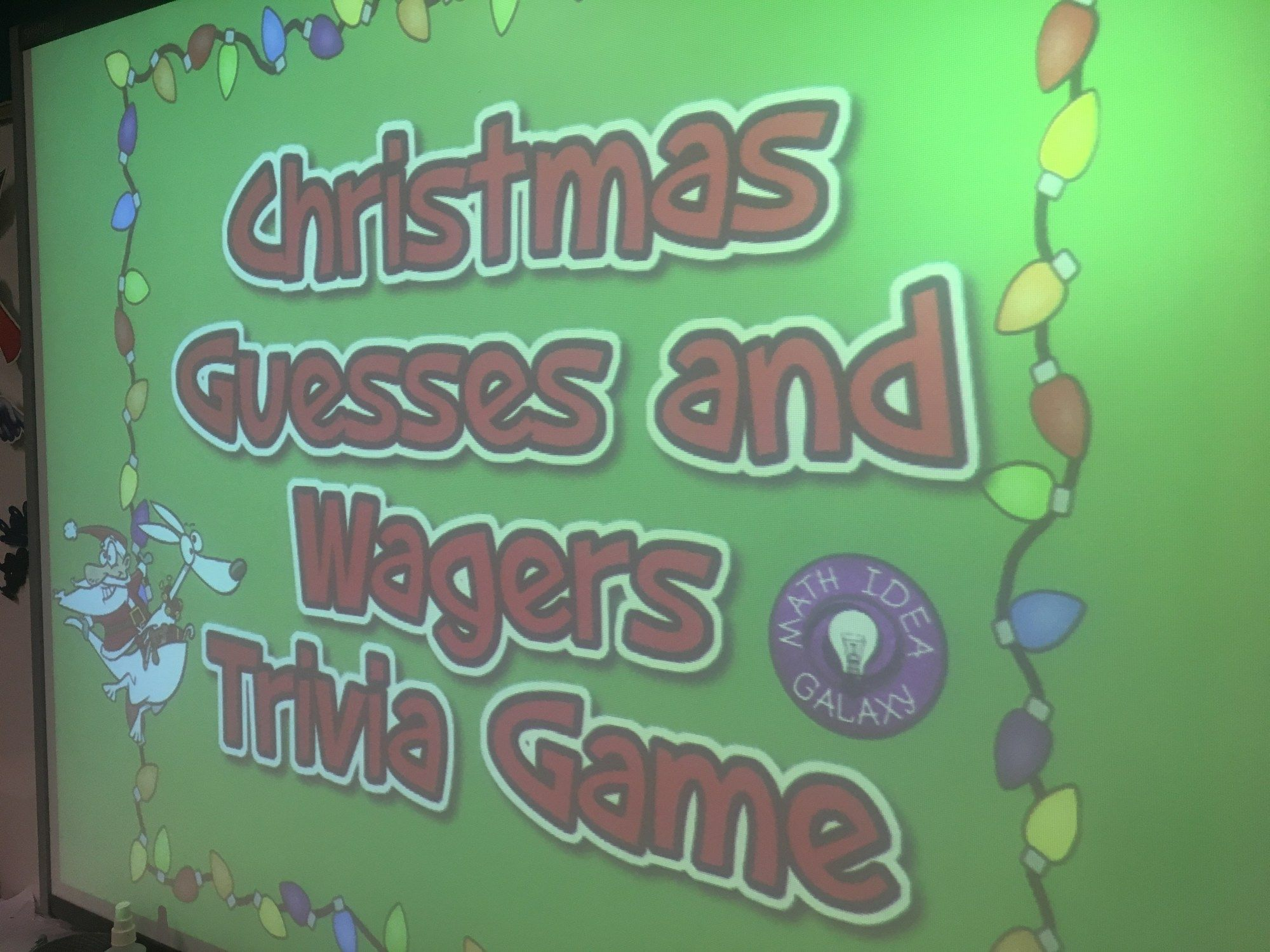 Christmas Trivia Game For The Secondary Classroom