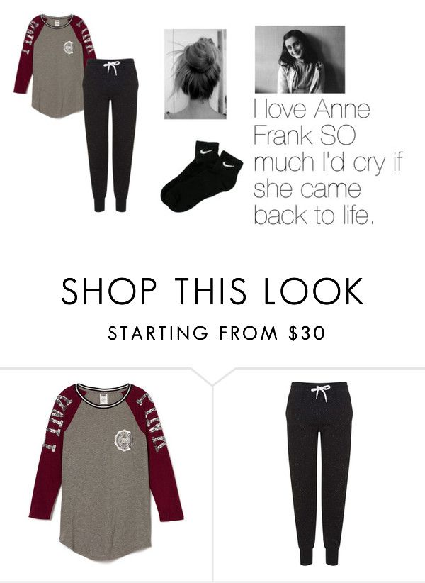"""Untitled #83"" by quotev-lover ❤ liked on Polyvore featuring Topshop and NIKE"