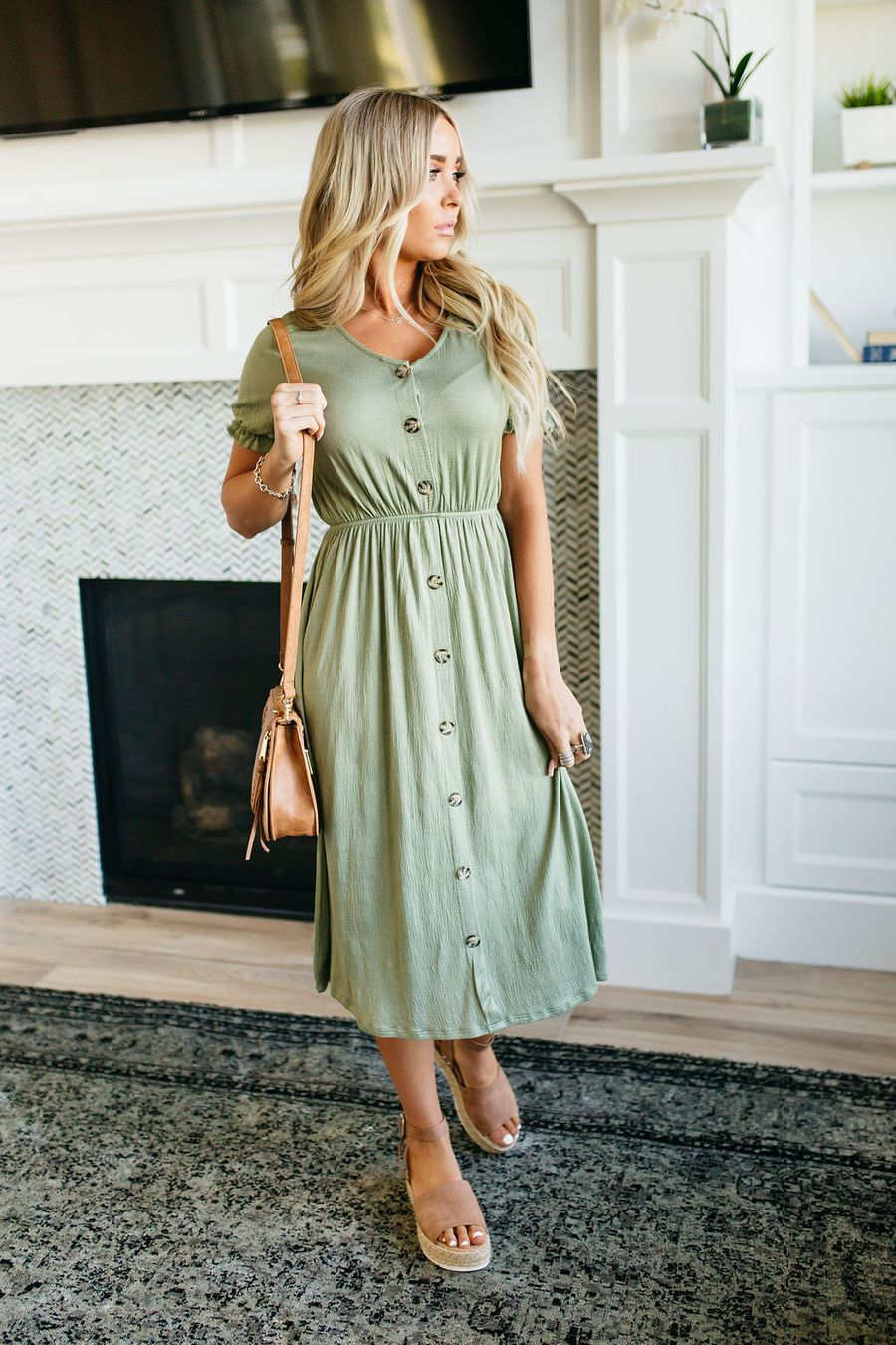 Cara Easy Dress With Images Modest Dresses Simple Dresses Modest Outfits [ 1350 x 900 Pixel ]