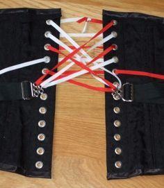 fan lacing tutorial in 2020  corset pattern corset