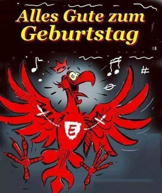 Geburtstag Eintracht Frankfurt