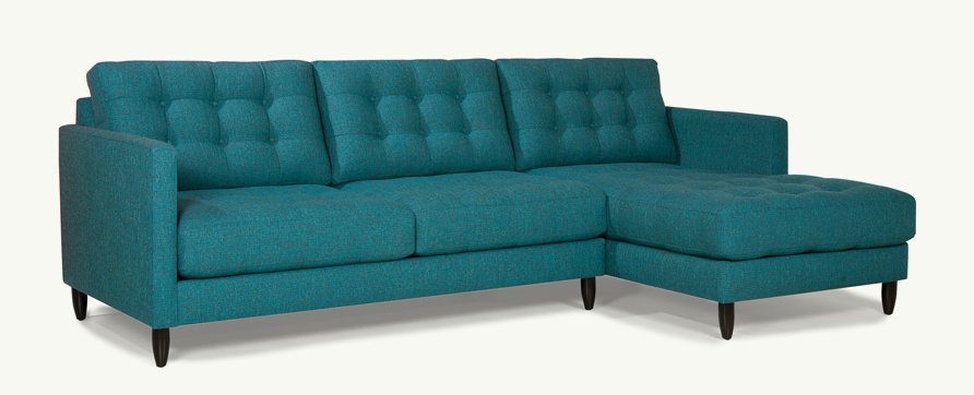 Younger Furniture James Sectional Sectional Sofa Furniture Bisectional Sofa