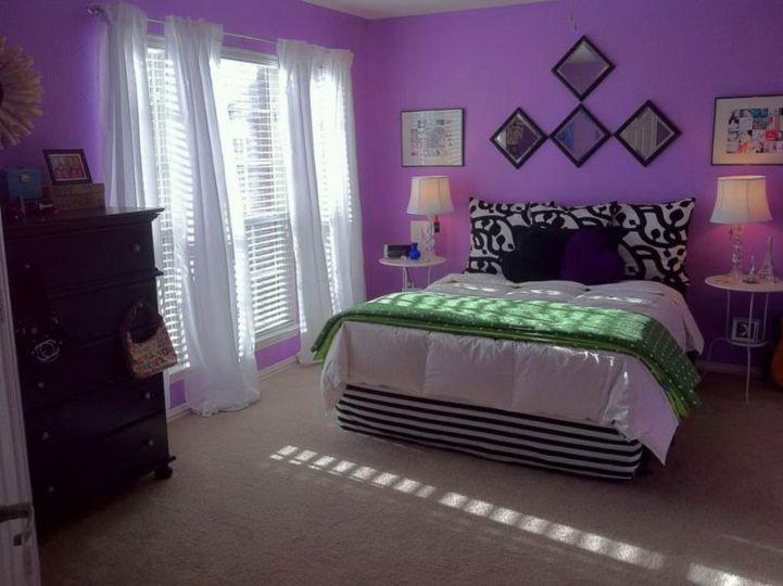 15 Luxurious Bedroom Designs With Purple Color Purple Bedrooms Purple Bedroom Design Purple Paint Colors Bedroom