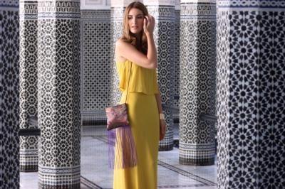 Mango Maxi Dluga Sukienka Lato Musztardowa Boho 36 6019075102 Oficjalne Archiwum Allegro Yellow Dress Maxi Gowns Dresses
