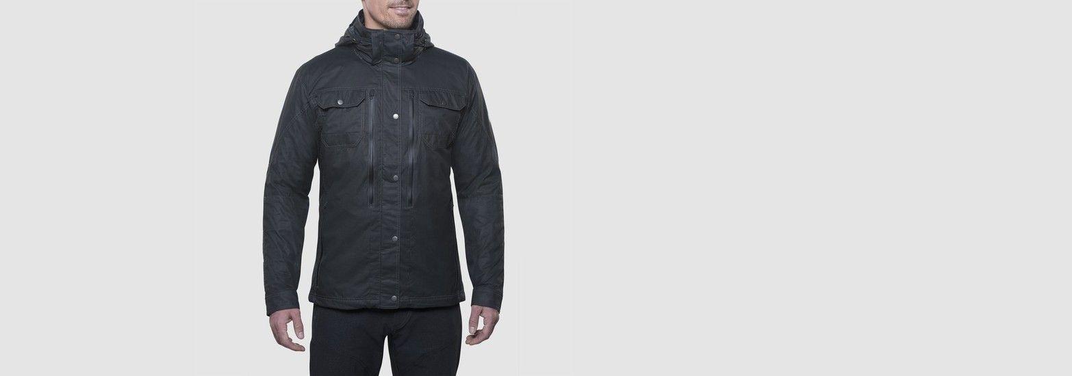 KÜhl clothing mus konfluence rain jacket in men outerwear
