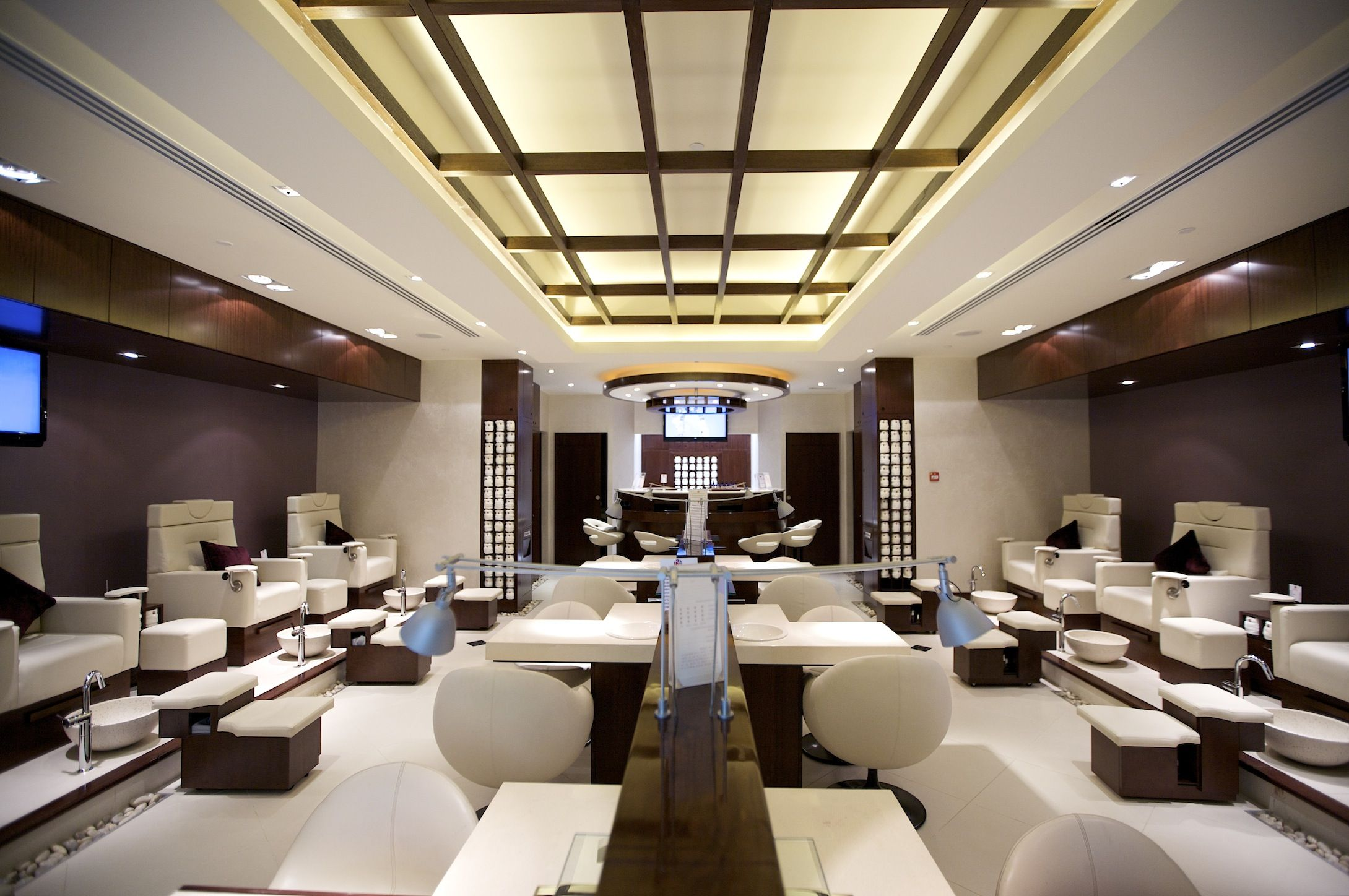 Luxury nail salon interior design - Nail Salon Designs Nail Bar Interior Design Commercial Salon Pierre Jean Baptiste Biz Pinterest Nail Salons Salons And Nail Bar