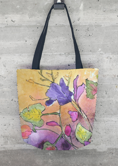 VIDA Tote Bag - Is a Rose Bag by VIDA 2QJ8ERC