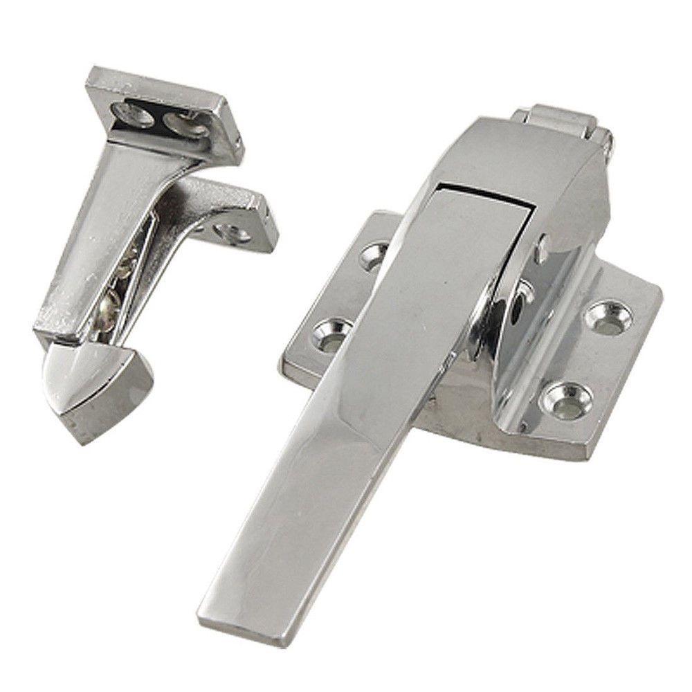 Freezer Cooler Door Handle Latch Stainless Steel Spring Loaded Mount Hardware Walk In Freezer Door Handles Cool Doors