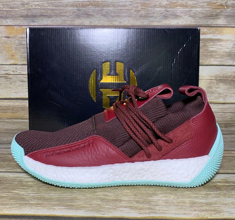 fc5abd7c7515 NEW Adidas Performance James Harden LS 2 Lace Basketball CG6277 Maroon Sizes   adidas  BasketballShoes