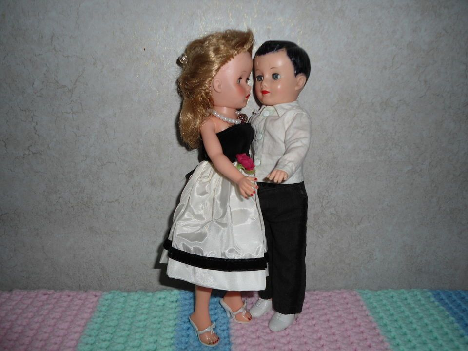 "Vogue 10"" Jeff Doll And 10"" Jill,"