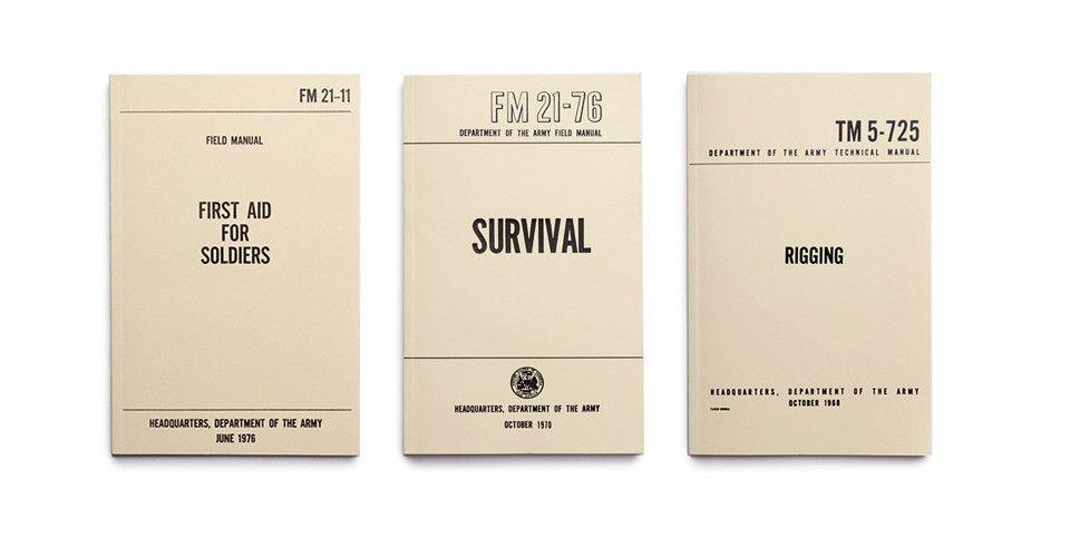 us army field manuals set of three boys room pinterest rh pinterest com army field guide triage army study guide field sanitation