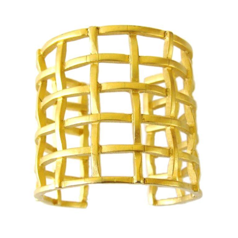 1stdibs | Karl Lagerfeld Cage Bracelet