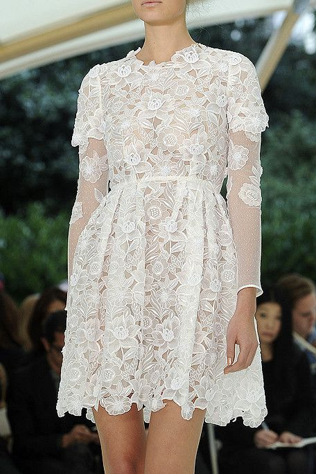 Erdem Spring 2011 -- So soft and pretty.
