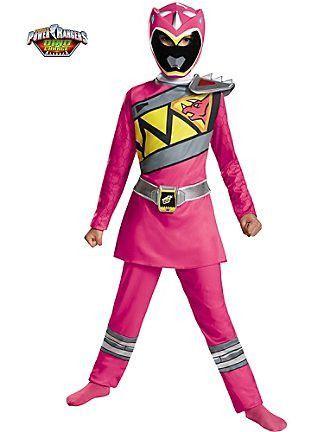 Brand New Pink Ranger Ninja Steel Deluxe Child Costume