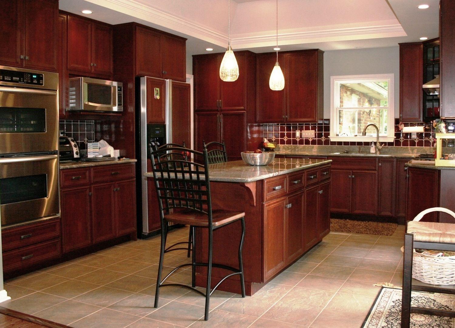 Completed kitchen remodeling project in Eldersburg, MD - Design Build Remodeling Group