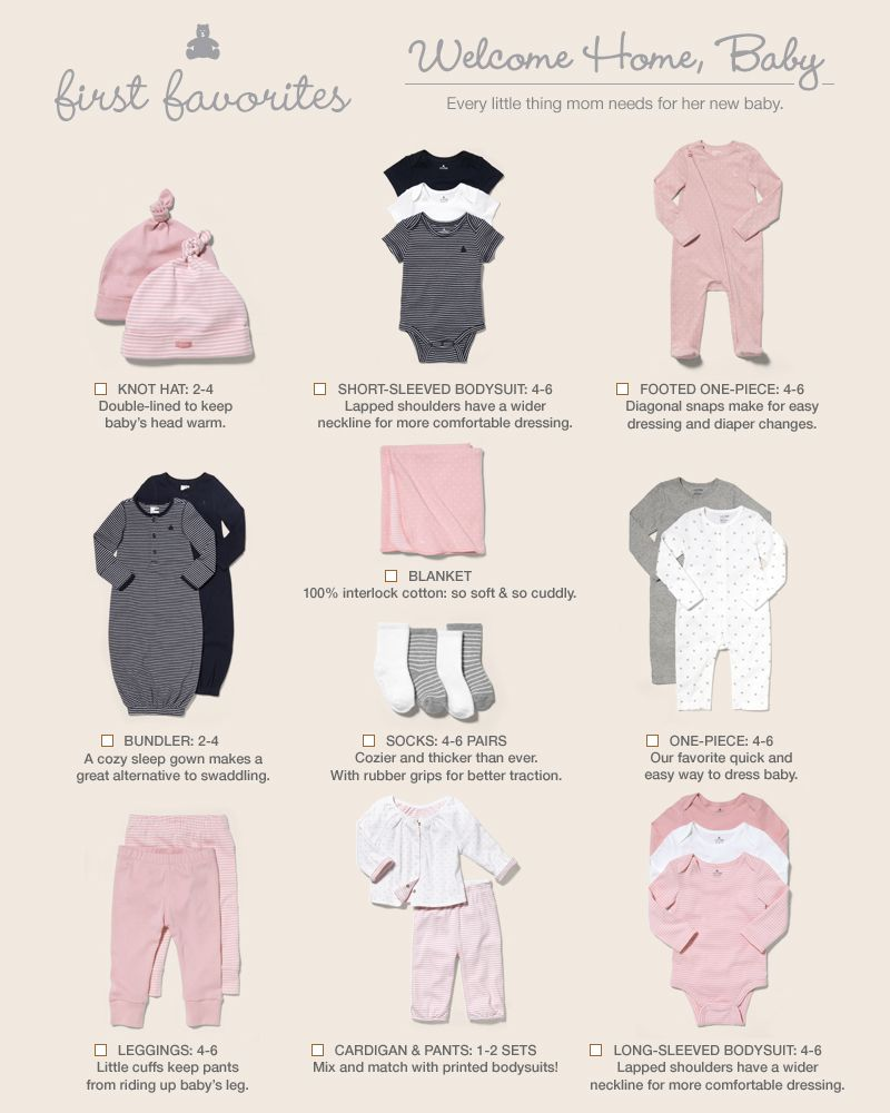 What New Babies Need Baby Baby Checklist Baby Outfits
