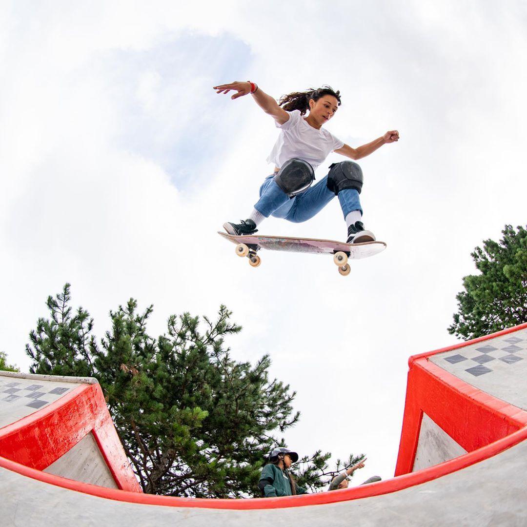 Lizzie Armanto Skateboard Fun Slide Fun