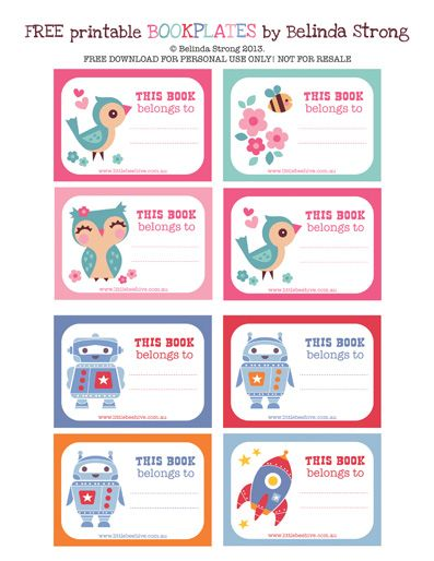 We Love to Illustrate: Back to school *FREE* printables ...