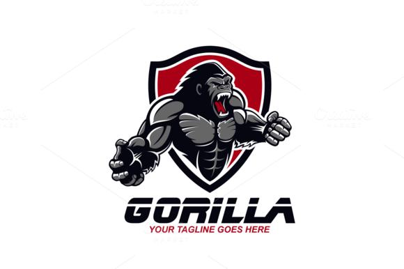 Gorilla Sports Logo Inspiration Gorilla Logo Design Inspiration