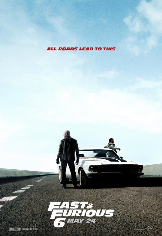 Click to View Extra Large Poster Image for Fast & Furious 6