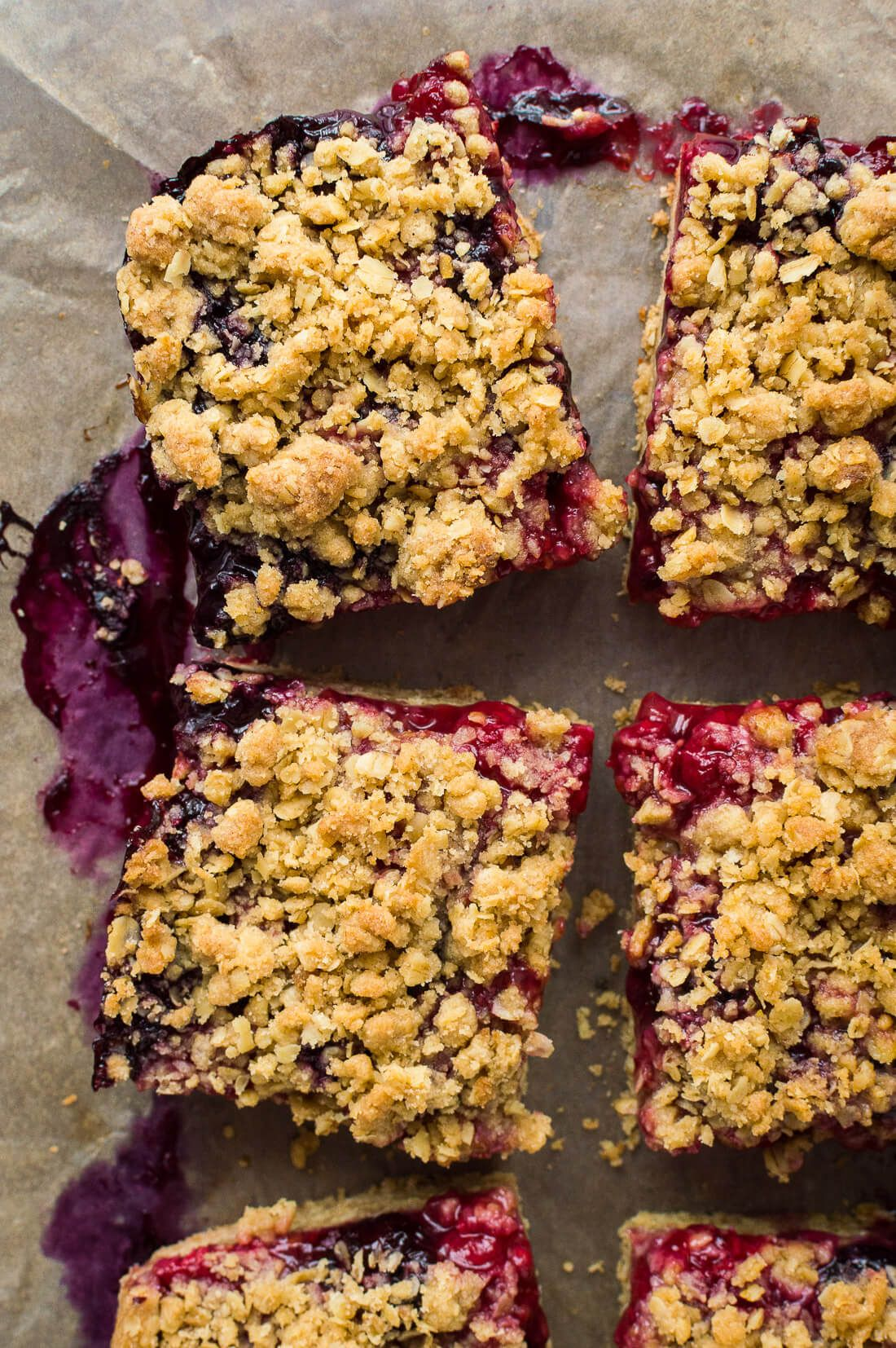 Berry Crumble Bars (Vegan) - Domestic Gothess