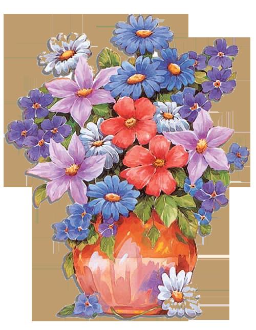 Детские картинки букет цветов
