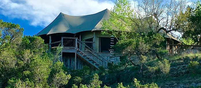 Sinya on Lone Man Creek, a Romantic Glamping Destination ...