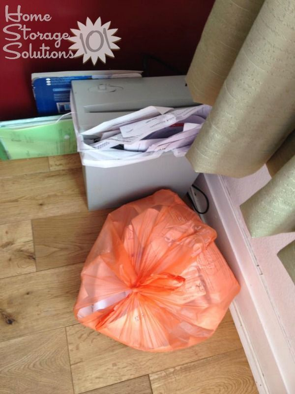 How To Declutter  Get Rid Of Junk Mail Paper clutter solutions